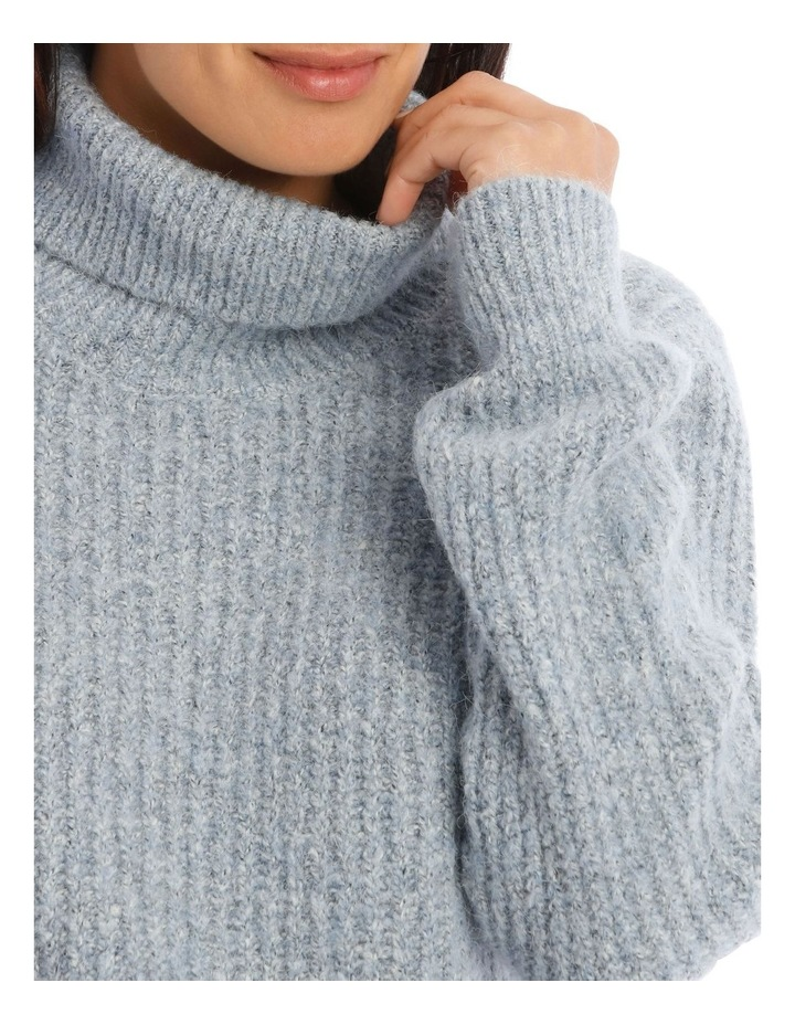 Roll Neck Rib Jumper image 4