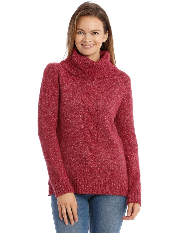 Confluence Roll Neck Jumper With Cf Big Cable image 1