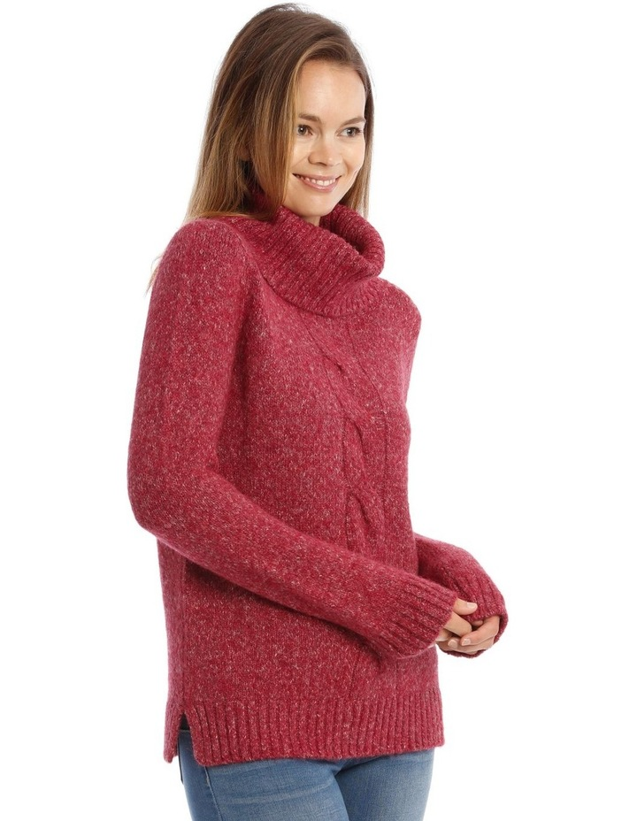 Confluence Roll Neck Jumper With Cf Big Cable image 2