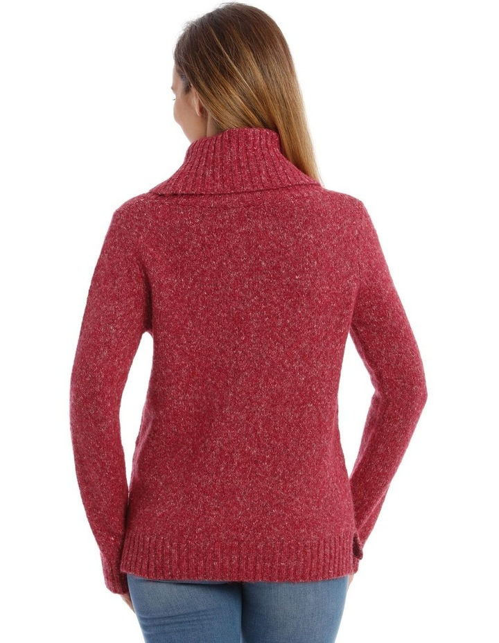 Confluence Roll Neck Jumper With Cf Big Cable image 3