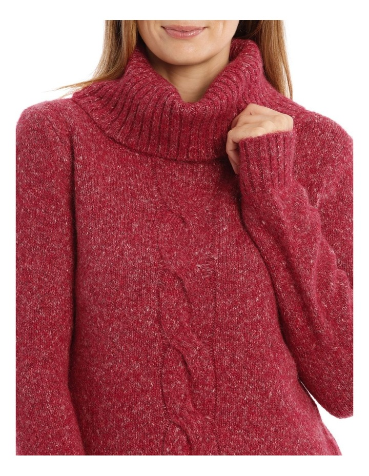 Confluence Roll Neck Jumper With Cf Big Cable image 4