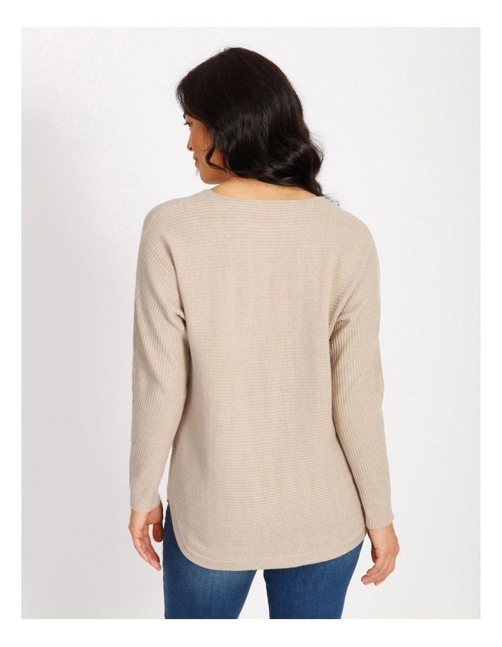 Wilderberry Curved Hem Long Sleeve Magyar Sleeve Jumper image 3