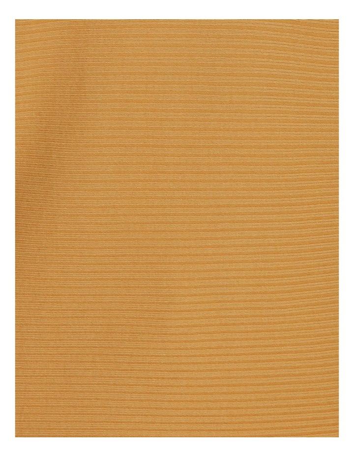 Ochre Dawn Curved Hem Long Sleeve Magyar Sleeve Jumper image 5