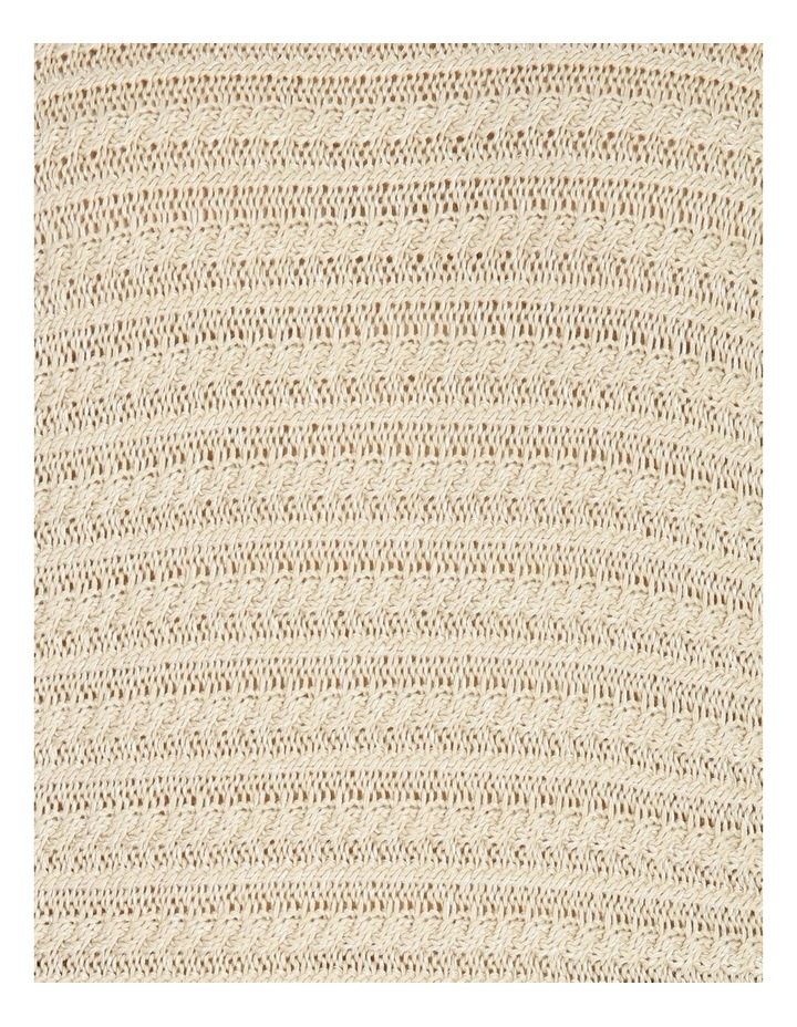 Olive Grove Magyar Sleeve Horizontal Cable Jumper image 5