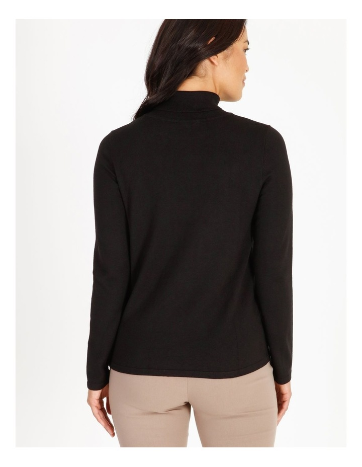 Roll Neck Fitted Jumper image 3