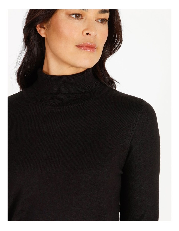 Roll Neck Fitted Jumper image 4