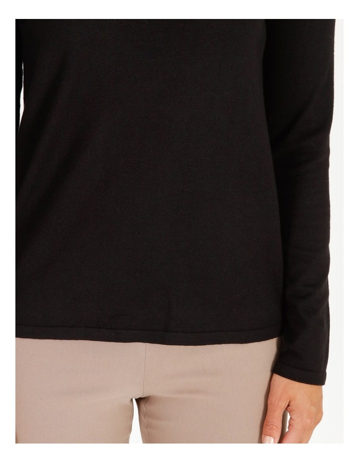 Roll Neck Fitted Jumper image 5