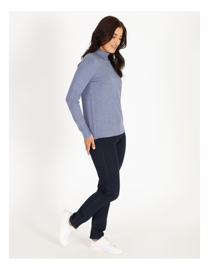 Roll Neck Fitted Jumper image 2