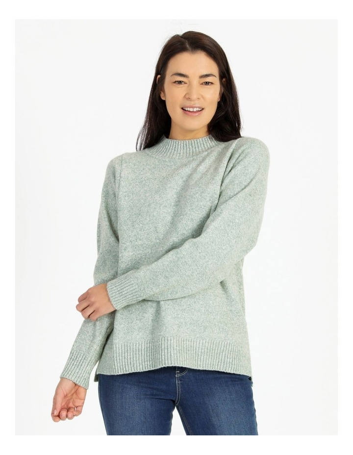 Pillar & Pine Stand Neck Jumper With Square Armholes image 1