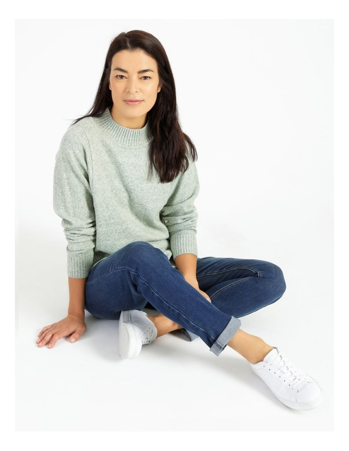 Pillar & Pine Stand Neck Jumper With Square Armholes image 2