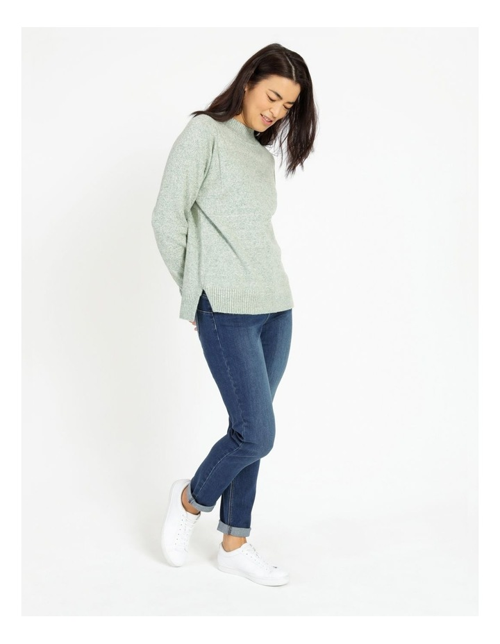 Pillar & Pine Stand Neck Jumper With Square Armholes image 3
