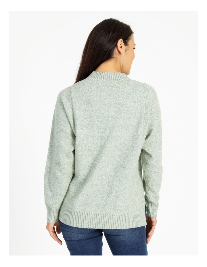 Pillar & Pine Stand Neck Jumper With Square Armholes image 4