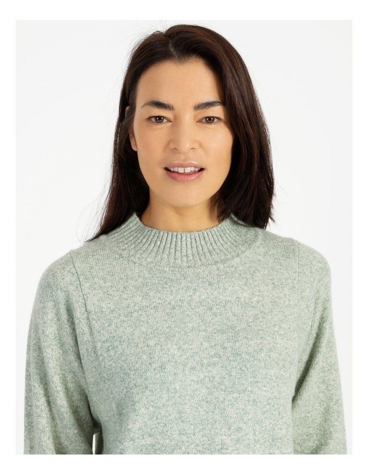 Pillar & Pine Stand Neck Jumper With Square Armholes image 6