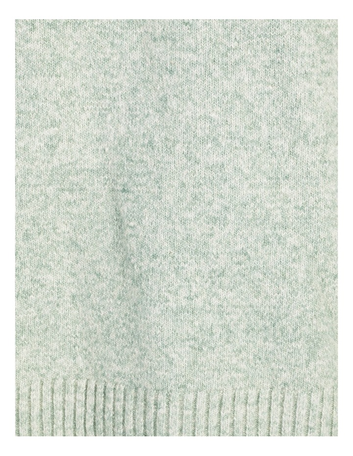 Pillar & Pine Stand Neck Jumper With Square Armholes image 7