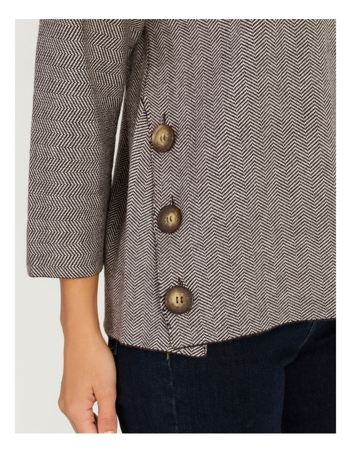 Pillar & Pine Button Side Stand Collar Long Sleeve Jumper image 6