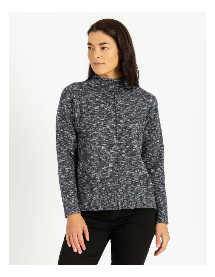 Stand Collar Jumper With Square Armholes image 1