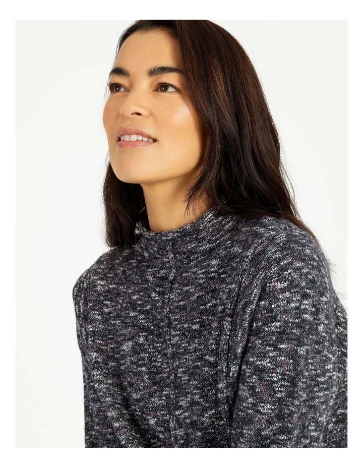 Stand Collar Jumper With Square Armholes image 5