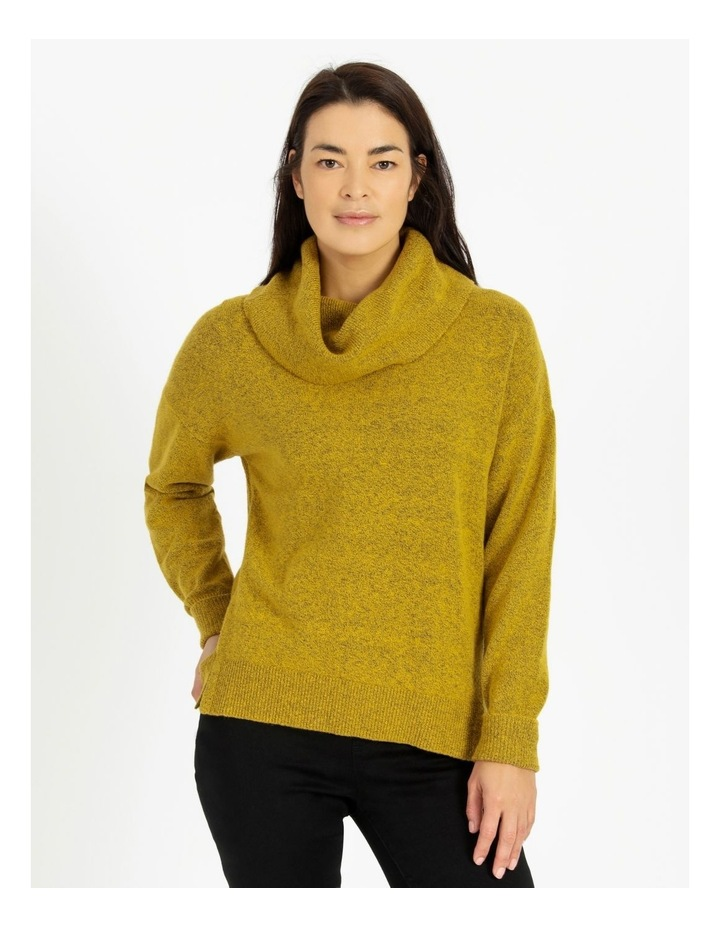Cowl Neck Jumper With Fold Back Cuff image 1