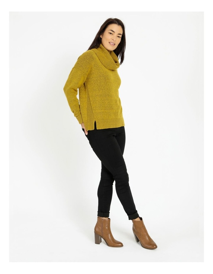 Cowl Neck Jumper With Fold Back Cuff image 2