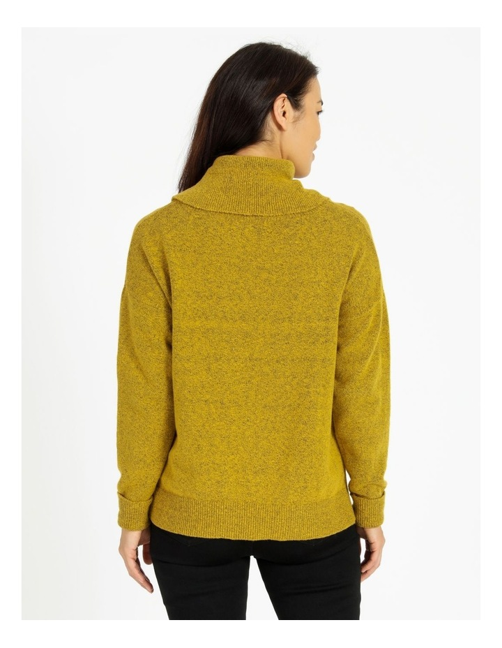 Cowl Neck Jumper With Fold Back Cuff image 3