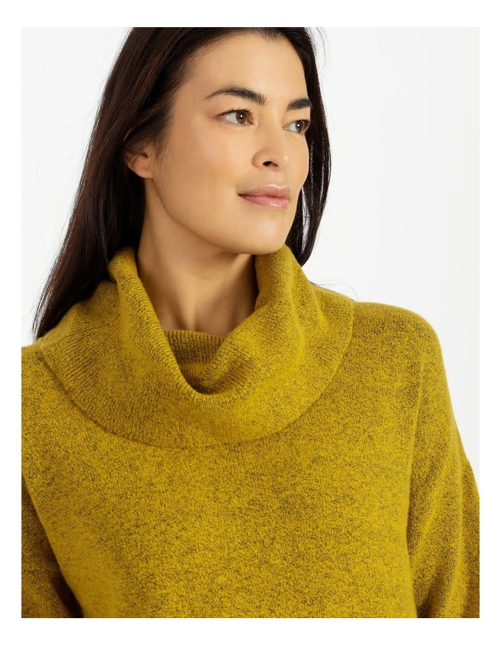 Cowl Neck Jumper With Fold Back Cuff image 4