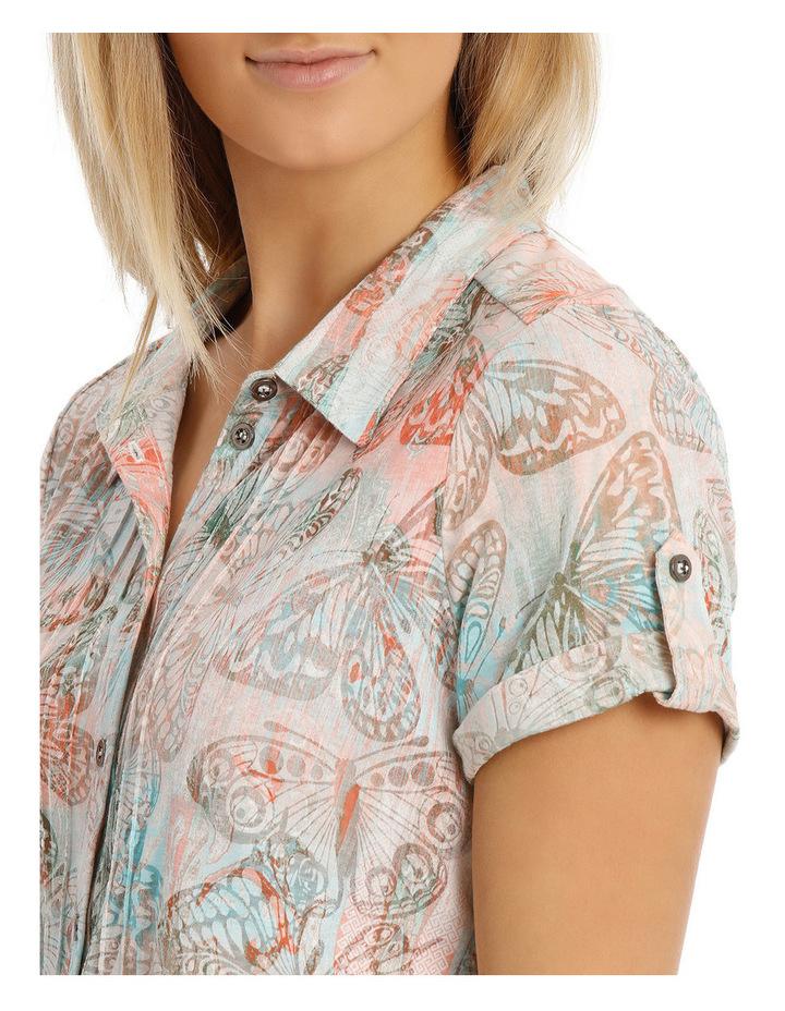 St Tropez Burnout Collar Short Sleeve Tee image 4