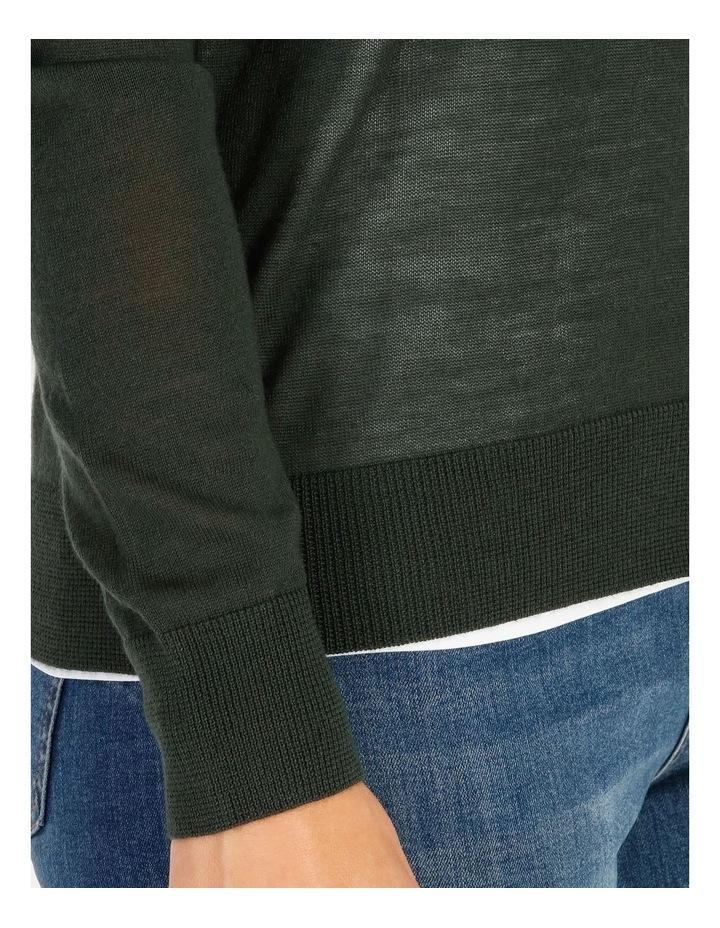 Pillar & Pine Button Front Short Cardigan image 4