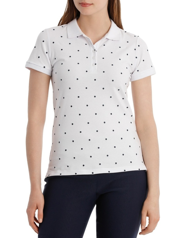 Must Have Emb Cotton Short Sleeve Polo image 1