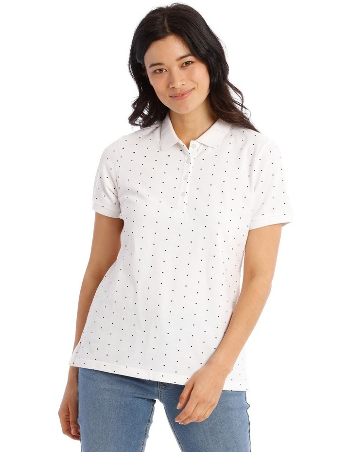 Short Sleeve Polo Tee image 1