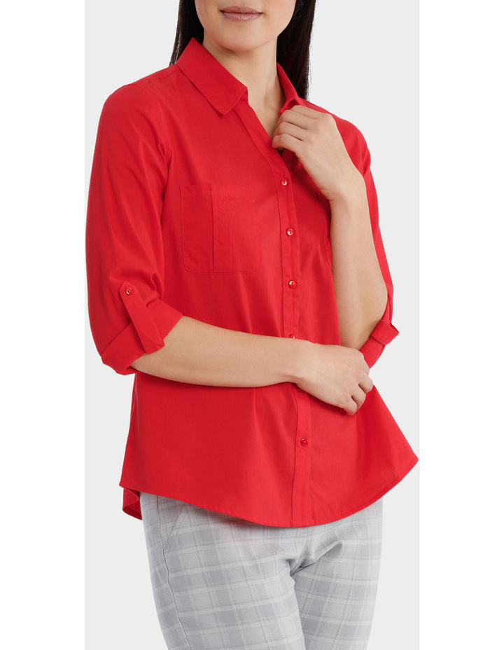 Must Have Cotton 3/4 Sleeve Shirt image 2