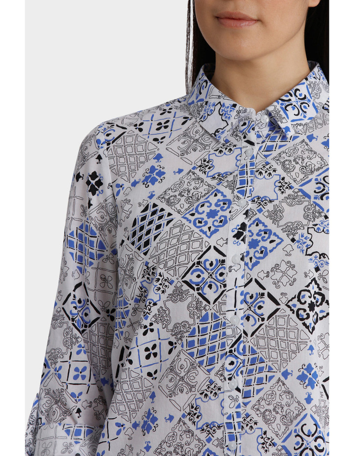Must Have Printed Cotton 3/4 Sleeveless Shirt image 4