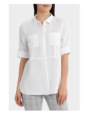 Regatta - Longline Linen 3/4 Sleeve Shirt