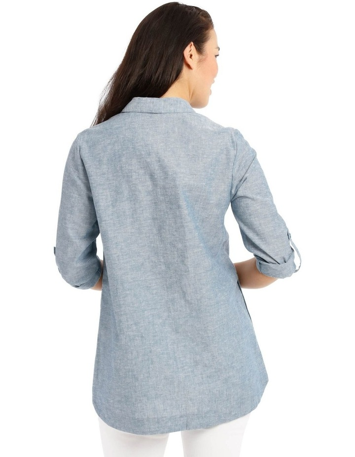 Long Sleeve Shirt With 1/2 Placket image 3