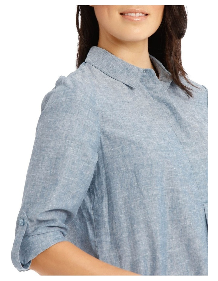 Long Sleeve Shirt With 1/2 Placket image 4