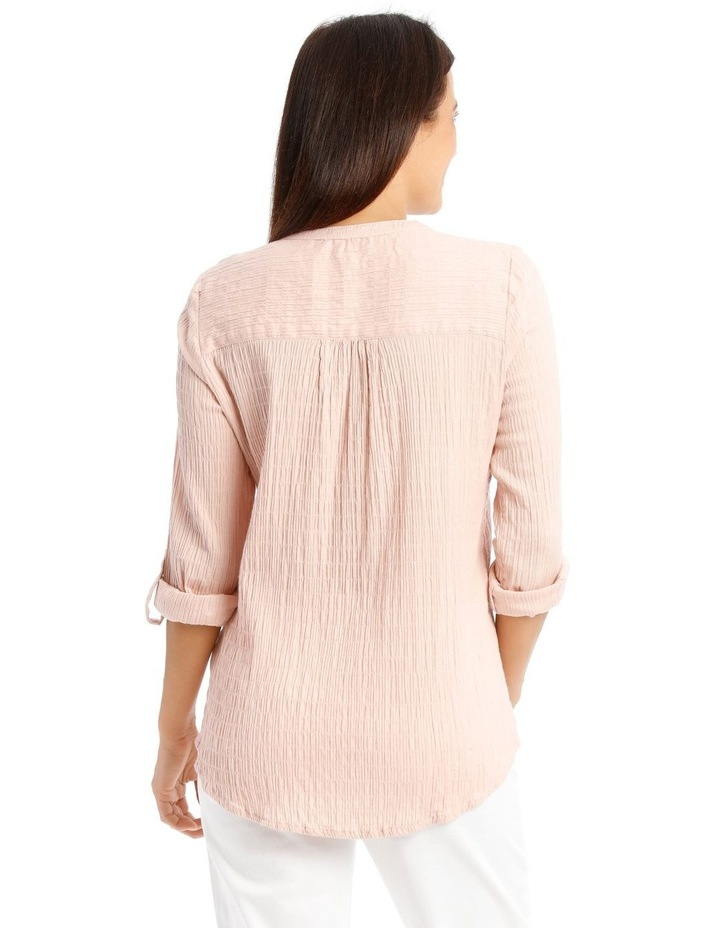 Soft Long Sleeve Shirt With Rolled Sleeve image 3