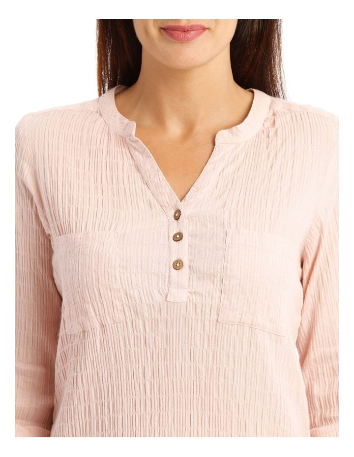 Soft Long Sleeve Shirt With Rolled Sleeve image 4