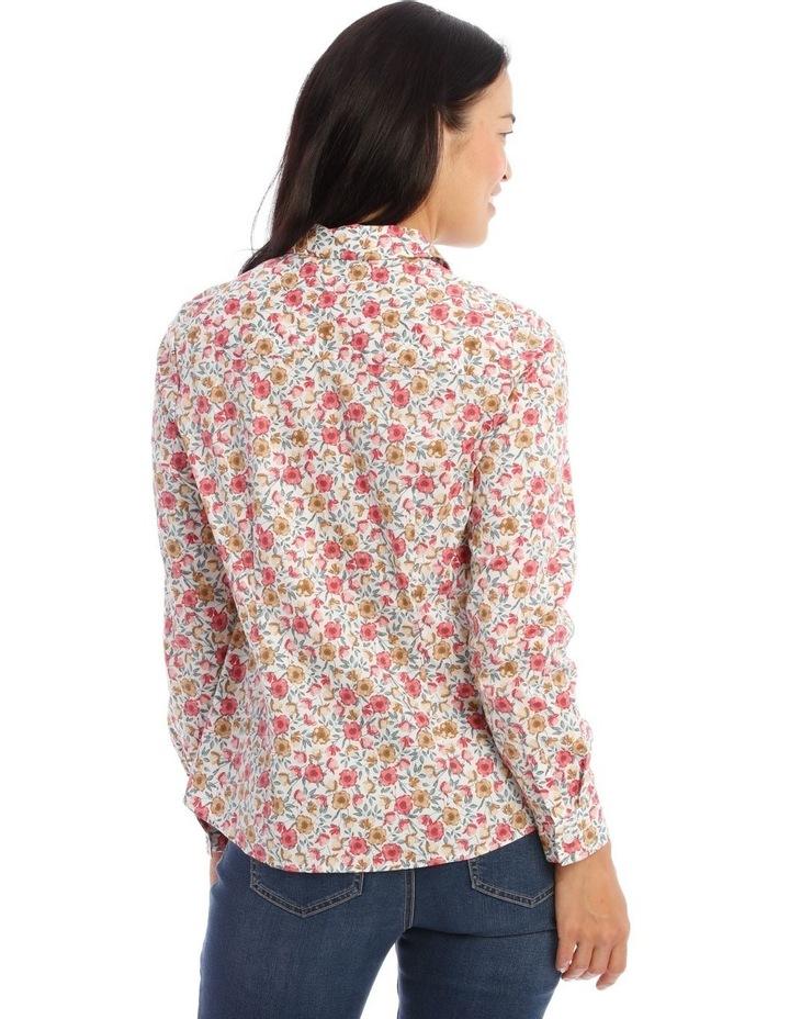 Stretch Cotton Long Sleeve Shirt image 3