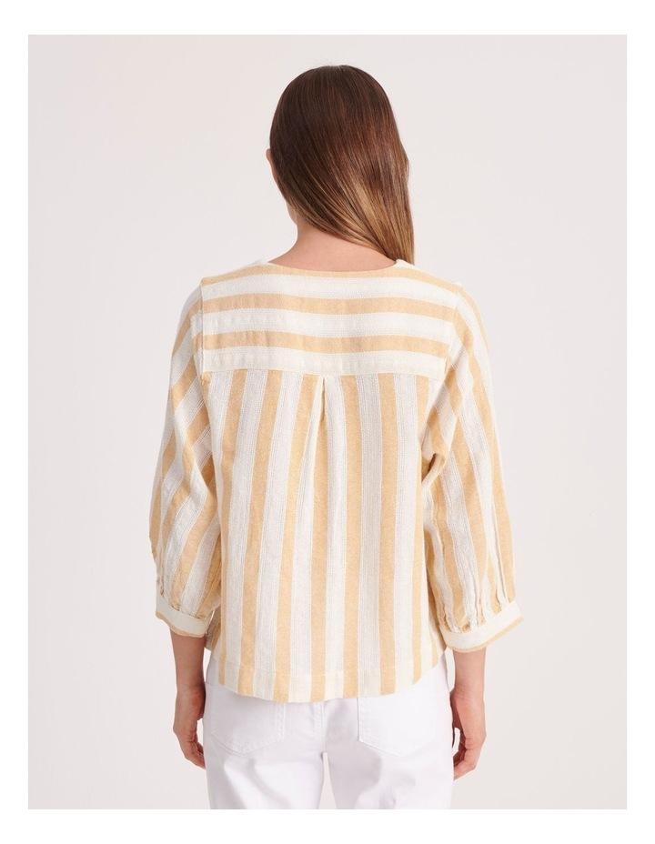 Round Neck Puff Sleeve Shirt image 4