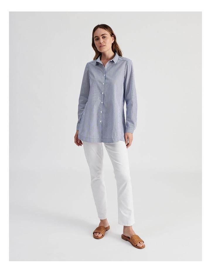Long Sleeve Aline Stripe Shirt image 2