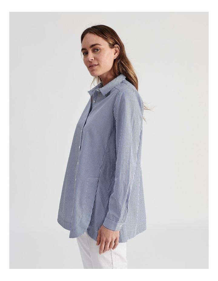 Long Sleeve Aline Stripe Shirt image 3