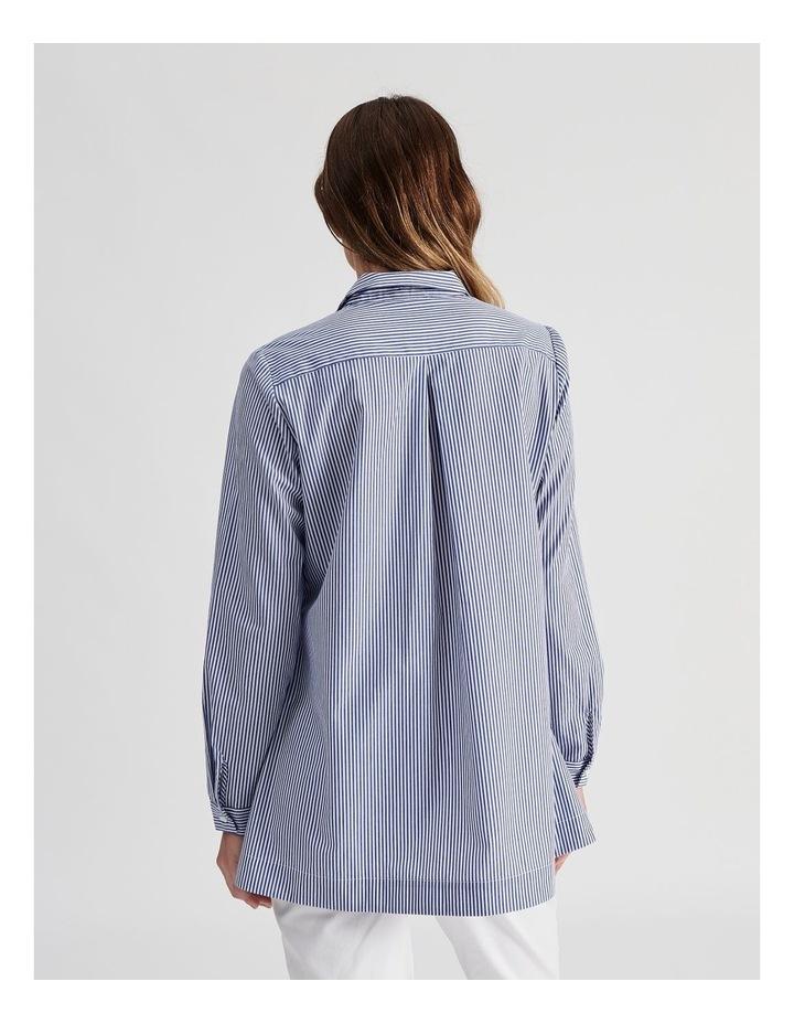 Long Sleeve Aline Stripe Shirt image 4