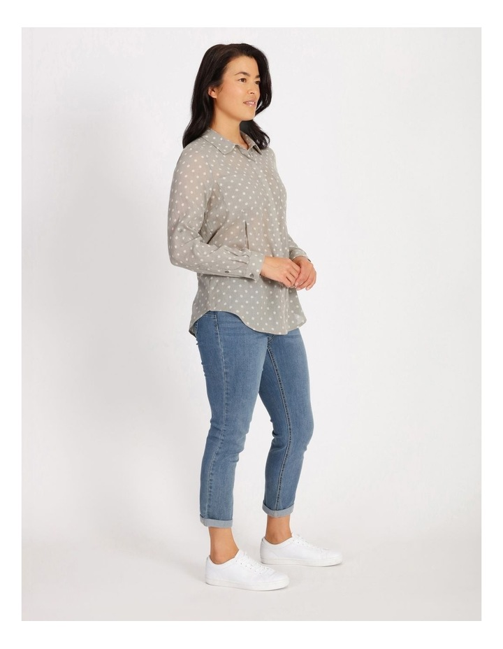 Rolled Long Shirt With Front Tucks image 2