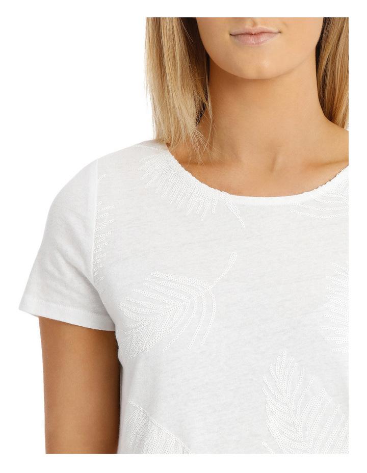 Sequin Leaf Singlet image 4