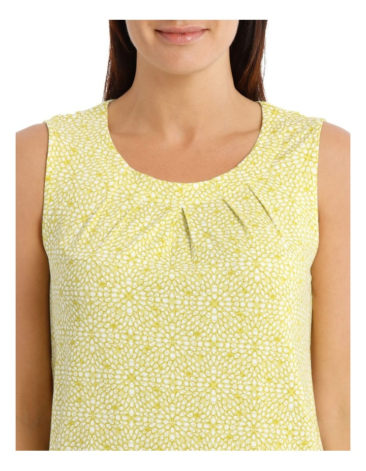 Round Neck Pleat Front Sleeveless Knit Top image 4