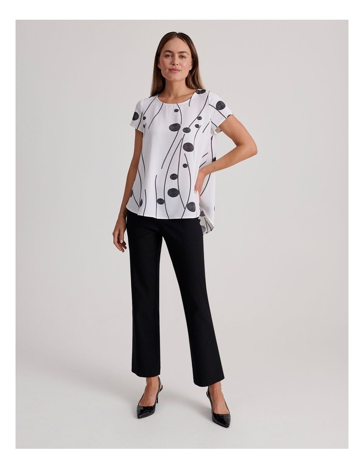 Short Sleeve High-Low Top image 2