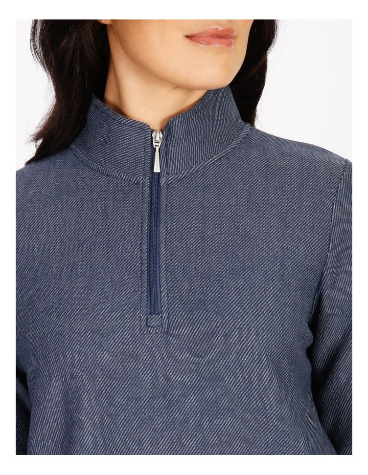 Leisure 1/2 Zip Sweat Top image 4
