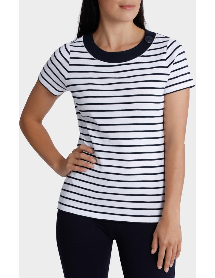 Essential Duo Stripe Short Sleeve Tee image 1