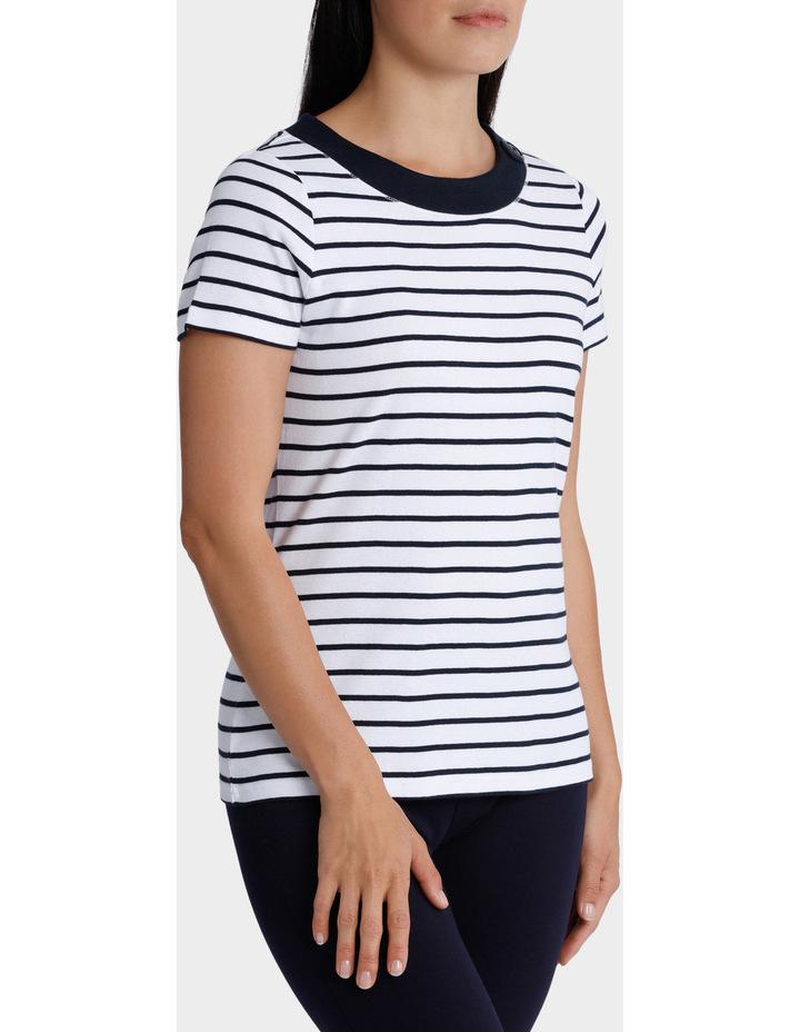 Essential Duo Stripe Short Sleeve Tee image 2
