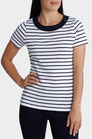 Regatta - Essential Duo Stripe Short Sleeve Tee