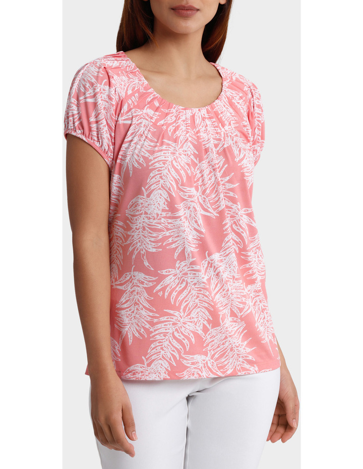 Must Have Pleated Short Sleeve Tee image 1